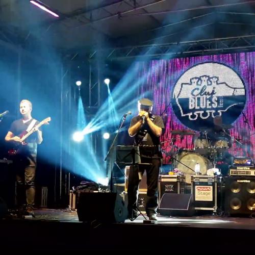 """Video/Marcian Petrescu și """"Trenul De Noapte"""" la Cluj Blues Festival. Gânduri la sfârșit de festival"""