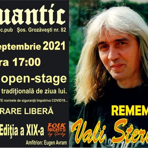 Remember Vali Sterian. Ediţia a XIX-a. Folk Open-Stage